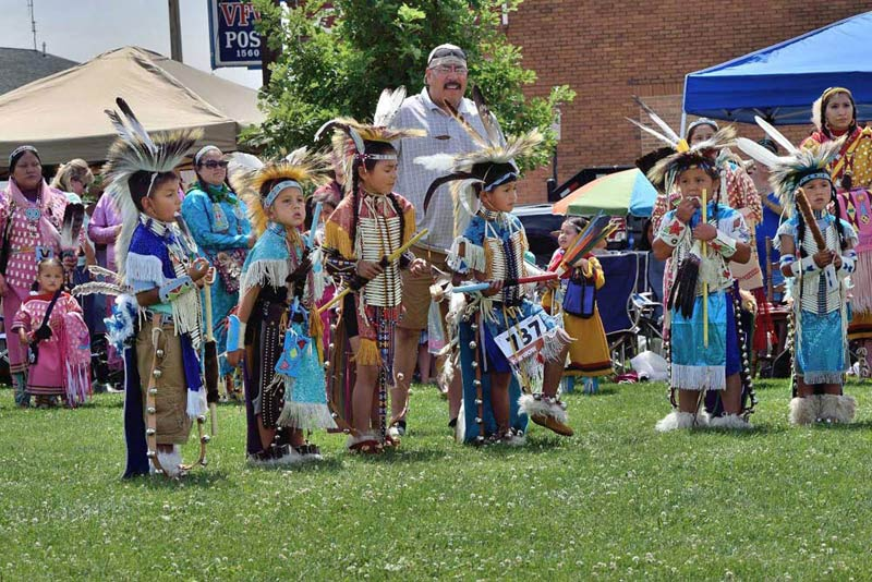 First People's Pow Wow celebration.